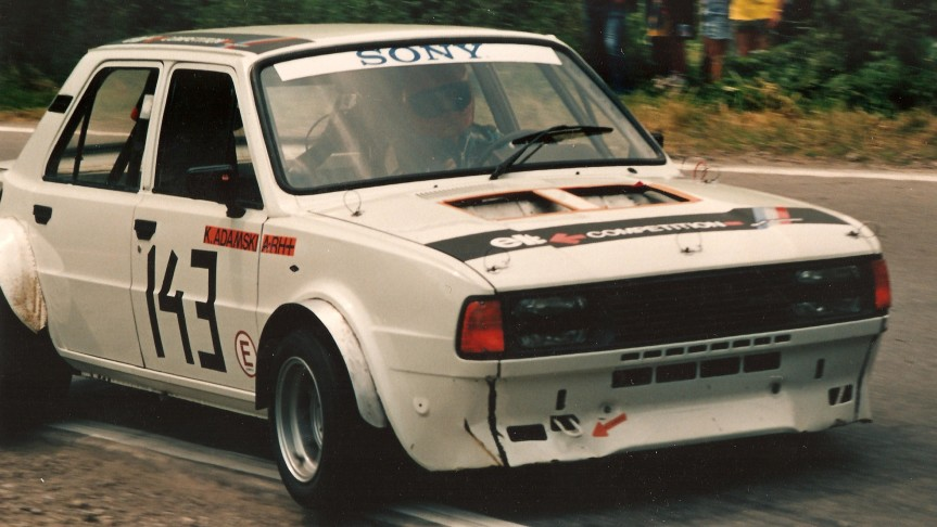 Prototyp na bazie Skody 120 z silnikiem V6 z Fiata 130, 3,2 l