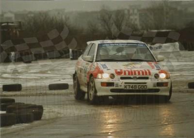 16. Jerzy Wierzbołowski i Bogusław Lepiarz - Ford Escort Cosworth RS.    (To zdjęcie w pełnej rozdzielczości możesz kupić na www.kwa-kwa.pl )