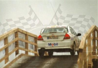 32. Wiesław Stec i Jakub Mroczkowski - Mitsubishi Lancer Evo IV.   (To zdjęcie w pełnej rozdzielczości możesz kupić na www.kwa-kwa.pl )