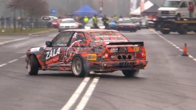 Zala Drift Competition Night Drift Show Zgierz Poland 2018