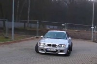 BMW M3 E46 GYMKHANA by Drift Competition Atlas Arena Łódź Poland 1080p 60fps