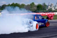 Reverse Rush Up Drift BMW e30 5.0 V8 M5 DRIFT OPEN MotoPark Tor Toruń