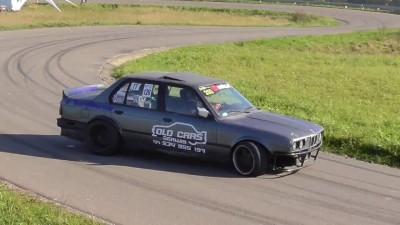 BMW e30 3.5 V8 Artur Szal Bavarian Drift Machine Drift Show Series Izdebki 2017 King Of The Hill