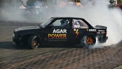 BMW E30 4.0 V8 + kompr. M112 Jaguar 370HP 550Nm Piotr Stańczak Agar Power Drift Competition Zgierz