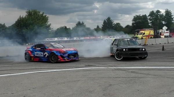 Drift BMW e30 V8 M5 S62B50 420HP Kamil Lorenc Lo-Stark Drift Team DMP PFD