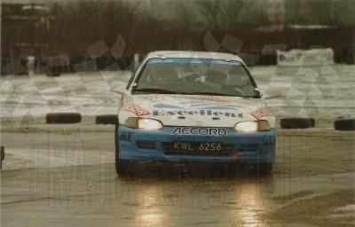 6. Tomasz Czopik i Łukasz Wroński - Honda Civic VTi.   (To zdjęcie w pełnej rozdzielczości możesz kupić na www.kwa-kwa.pl )