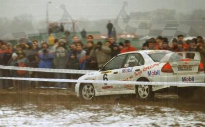 30. Wiesław Stec i Jakub Mroczkowski - Mitsubishi Lancer Evo IV.   (To zdjęcie w pełnej rozdzielczości możesz kupić na www.kwa-kwa.pl )