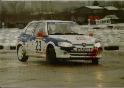 8. Jacek Jerschina i Artur Orlikowski - Peugeot 106 Maxi.    (To zdjęcie w pełnej rozdzielczości możesz kupić na www.kwa-kwa.pl )