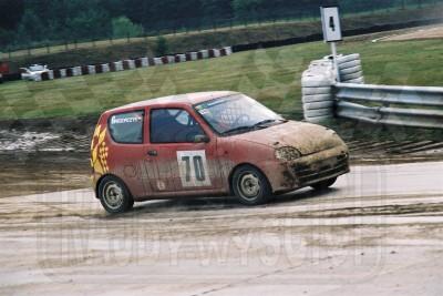 77. Igor Gregorczyk - Fiat Seicento  (To zdjęcie w pełnej rozdzielczości możesz kupić na www.kwa-kwa.pl )