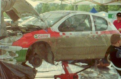 15. Kamil Skóra i Marek Kaczmarek - Peugeot 206 XS.  (To zdjęcie w pełnej rozdzielczości możesz kupić na www.kwa-kwa.pl )