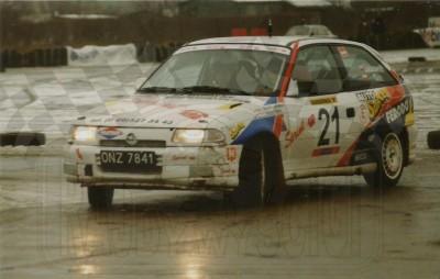 10. Wojciech Zaborowski i Tomasz Malec - Opel Ascona GSi 16V.   (To zdjęcie w pełnej rozdzielczości możesz kupić na www.kwa-kwa.pl )