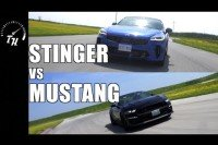 Kia Stinger GT vs Mustang GT 10-Speed- Track Review // Lap-Times and Drag Race