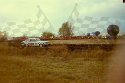 25. Paweł Omlet i Wojciech Skrebutenas - Ford Escort RS 2000.  (To zdjęcie w pełnej rozdzielczości możesz kupić na www.kwa-kwa.pl )